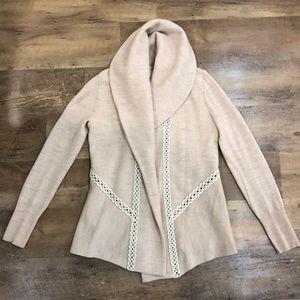 Anthropologie boho sweater-jacket
